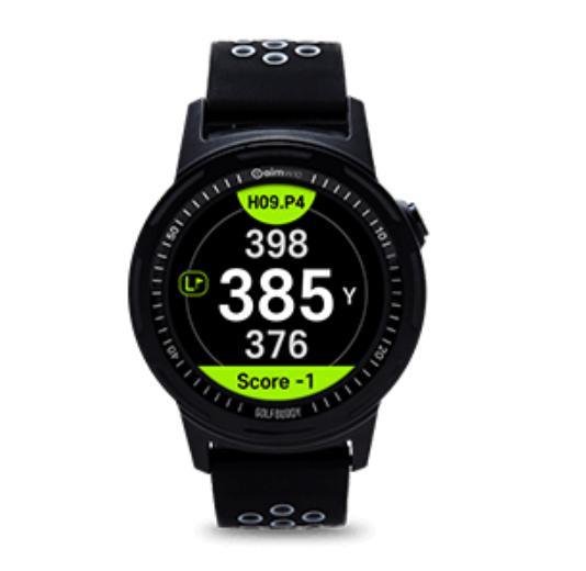 Golfbuddy Aim W10 - Uhransicht - Basisinformation